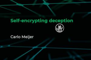 SSD encryptie Raboud Uni Carlo Meijer