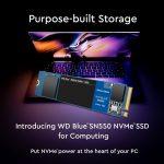 Persbericht: Western Digital's nieuwe WD Blue SSD met NVMe-protocol tot 4x sneller dan SATA SSD